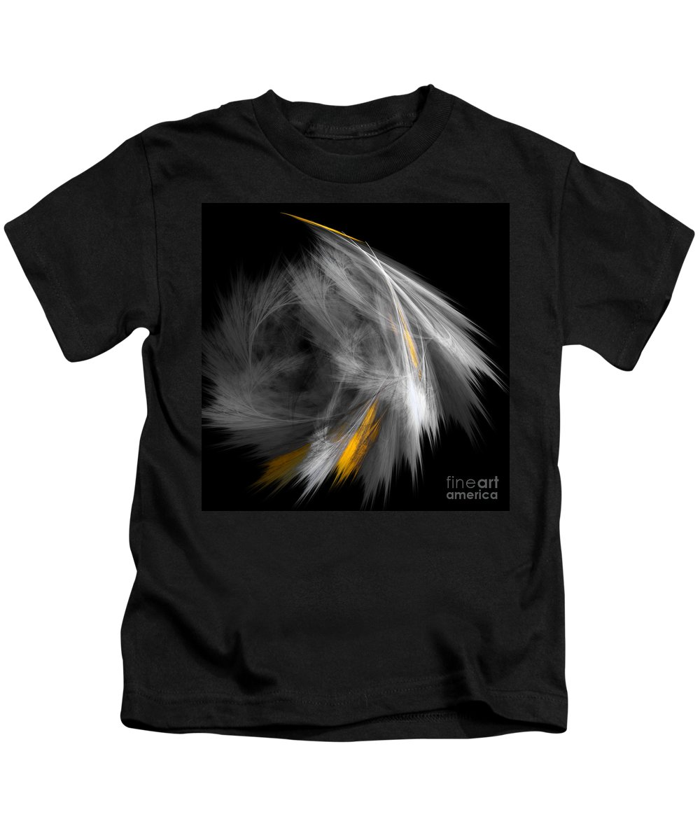 Fractal Digital Art Kids T-Shirt featuring the photograph Abstract 156 by Mike Nellums