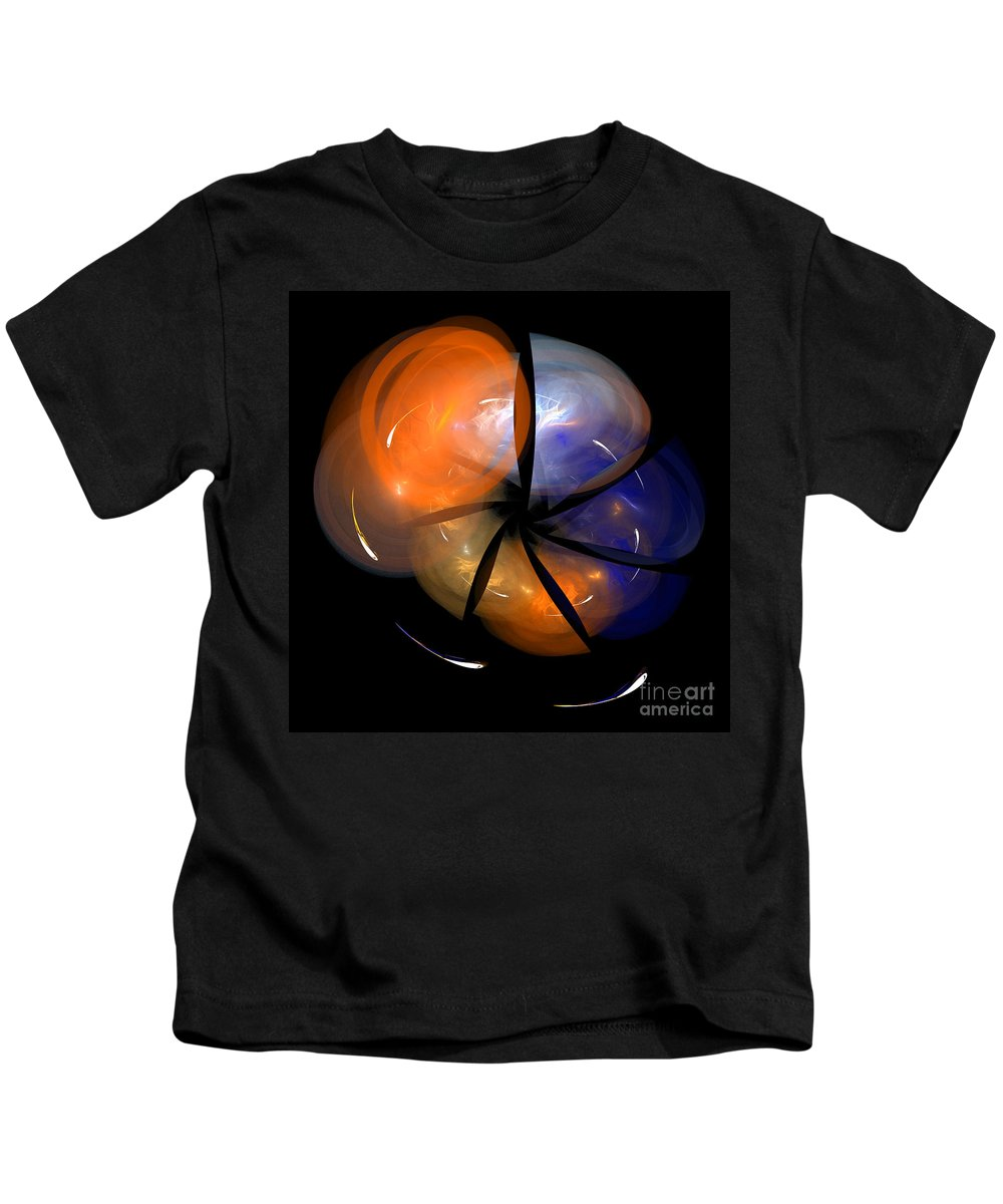 Fractal Digital Art Kids T-Shirt featuring the photograph Abstract Eighty-eight by Mike Nellums