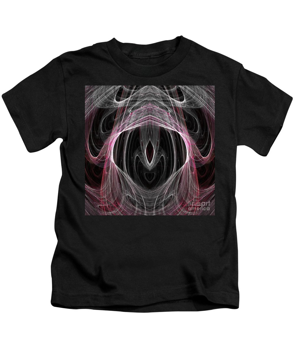 Fractal Digital Art Kids T-Shirt featuring the photograph Abstract Eighty-five by Mike Nellums