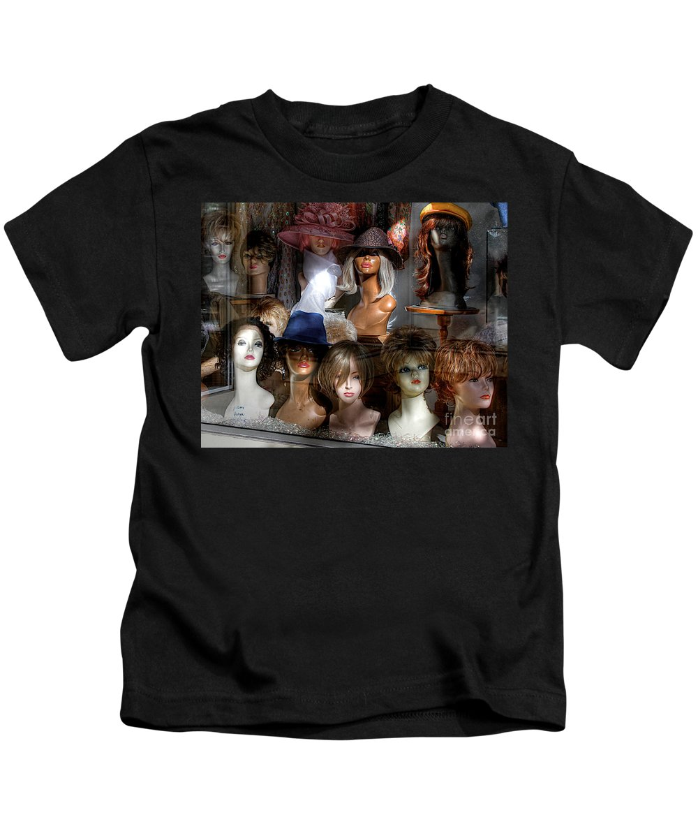 Hdr Kids T-Shirt featuring the photograph Heads Up by Robert Pearson
