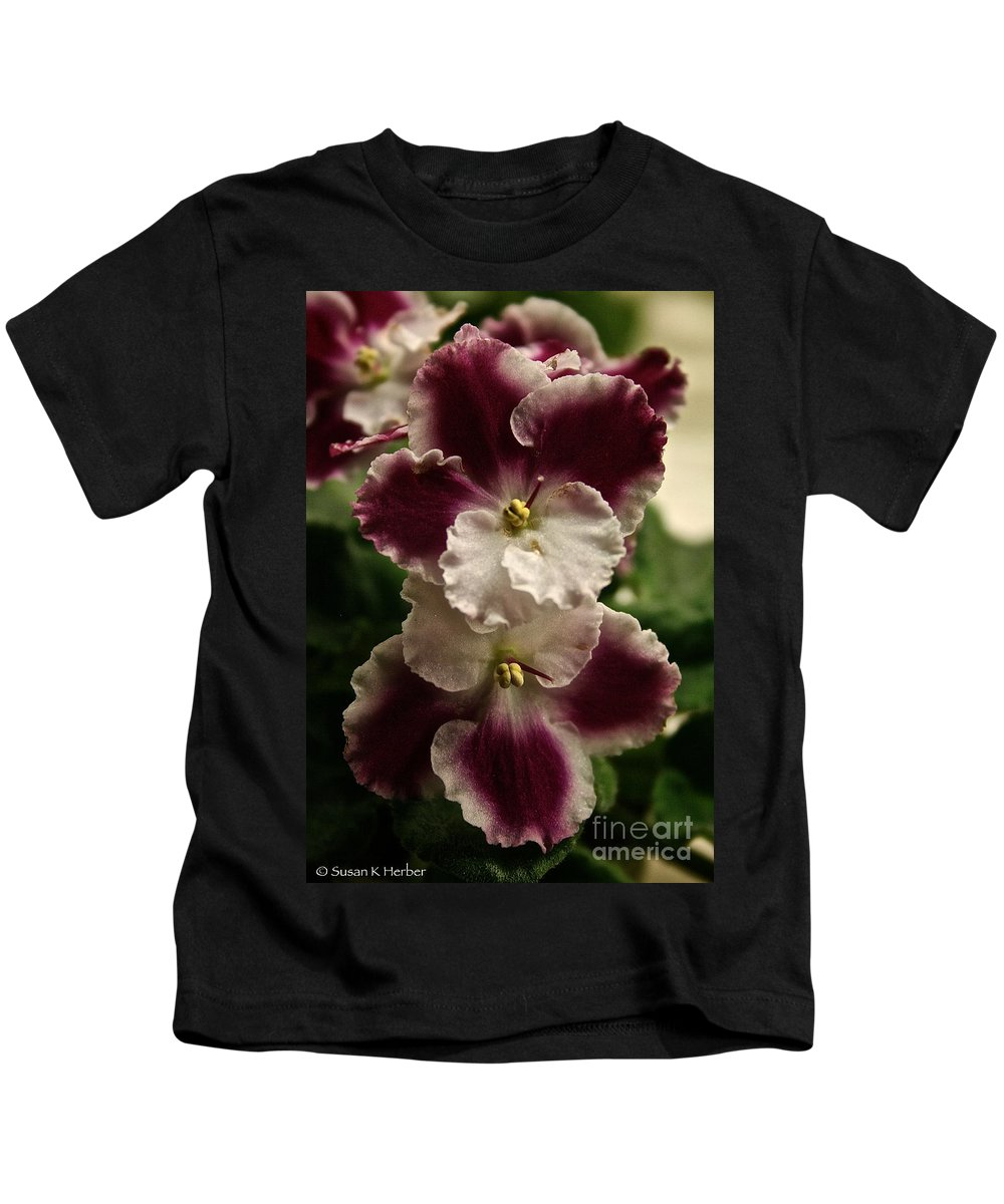 Outdoors Kids T-Shirt featuring the photograph Mirrored by Susan Herber