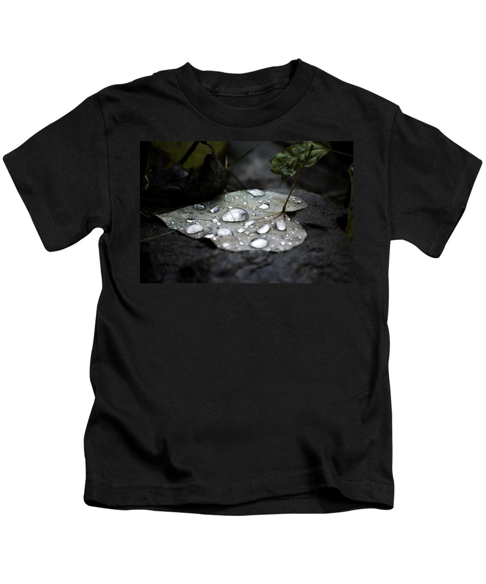 Nature Photography Kids T-Shirt featuring the photograph My Heart Weeps by Peggy Franz