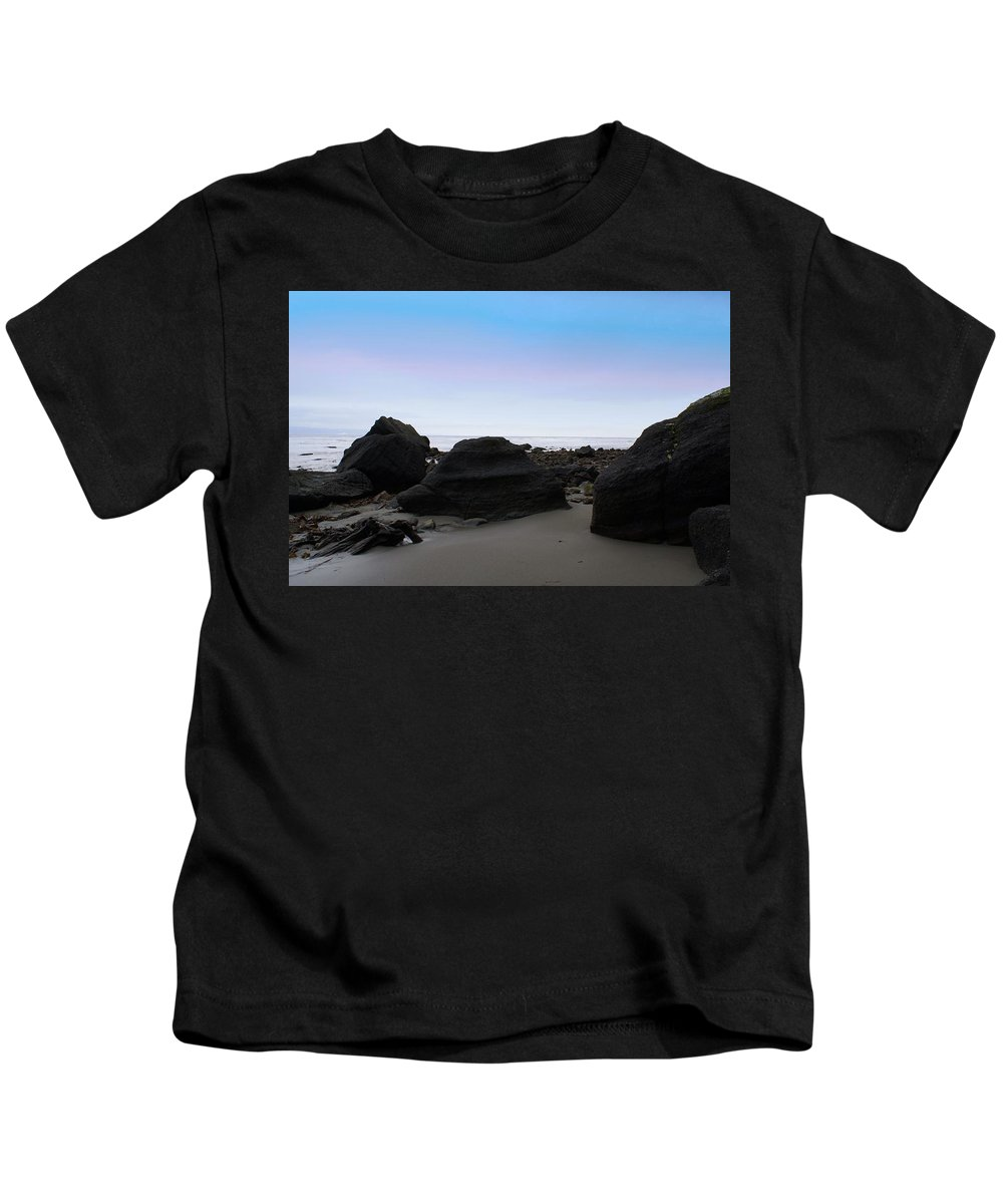 Beautiful Cape Flattery Kids T-Shirt featuring the photograph Neah Bay by Christy Leigh
