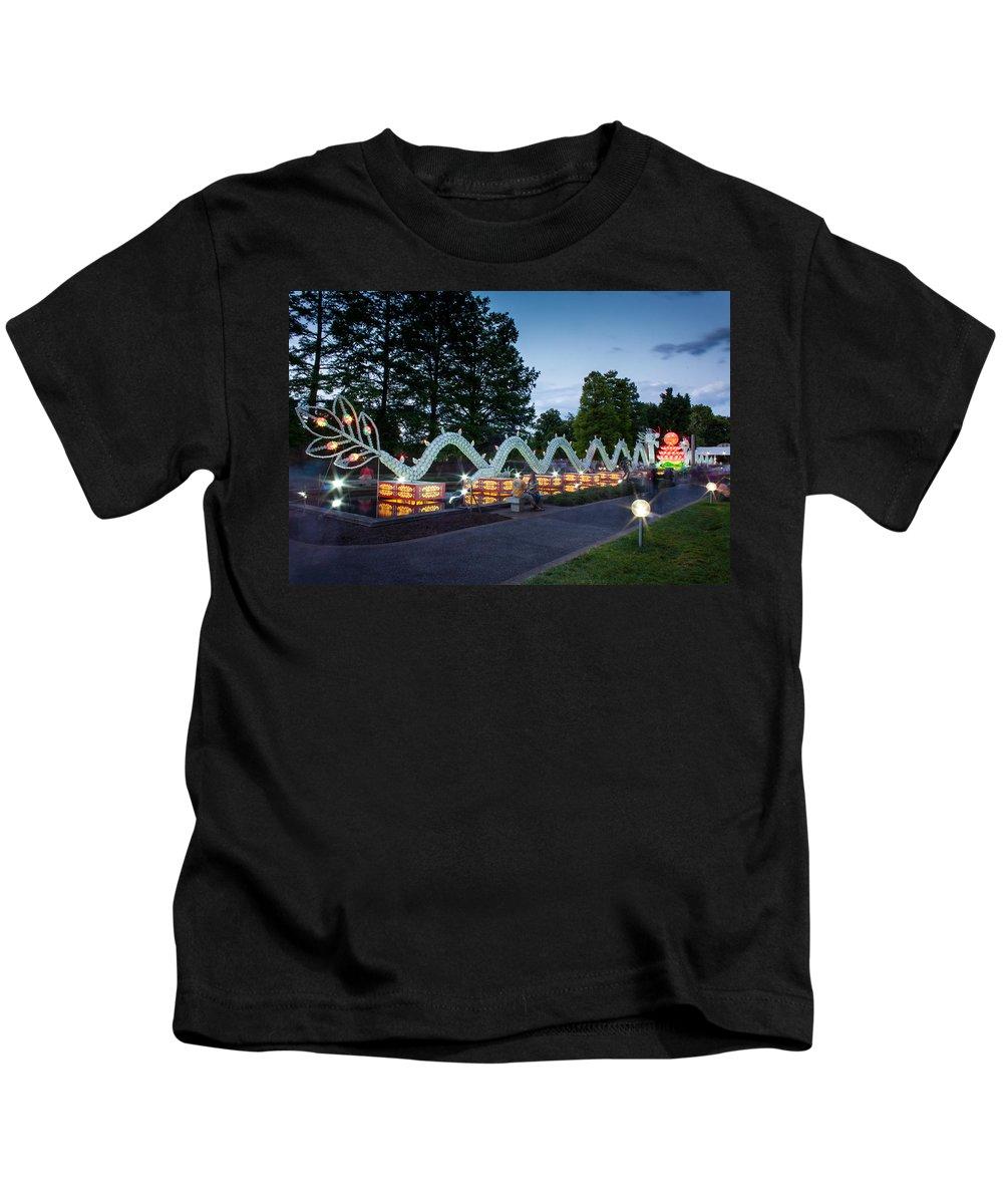Art Kids T-Shirt featuring the photograph Porcelain Dragon by Semmick Photo