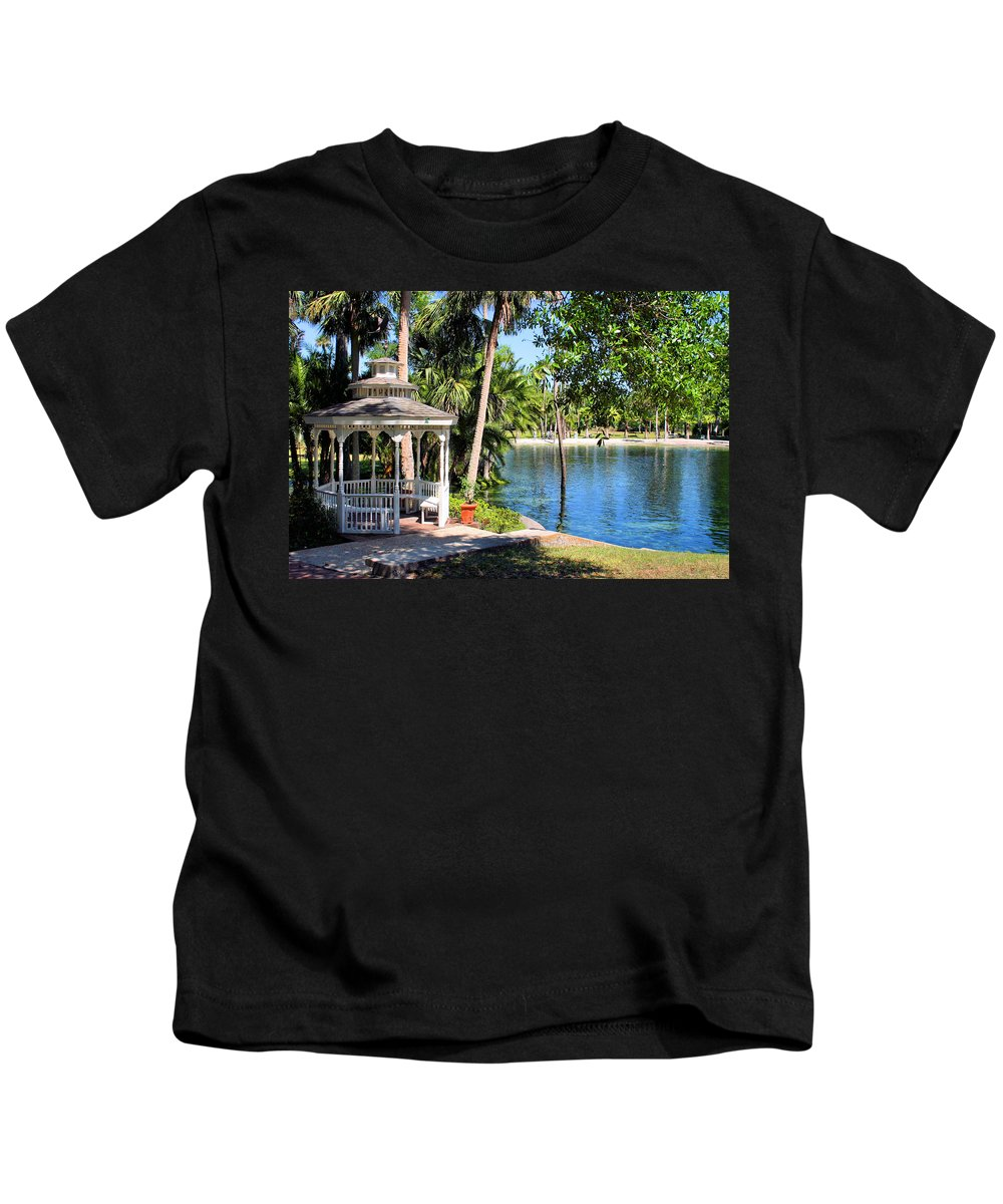 The Springs Kids T-Shirt featuring the photograph The Springs by Kristin Elmquist