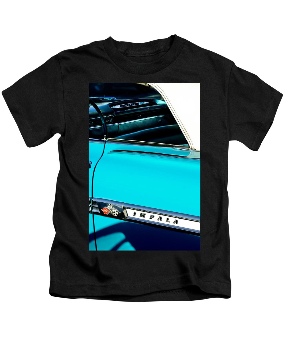 1959 Chevrolet Impala Kids T-Shirt featuring the photograph 1959 Chevrolet Impala by Jill Reger