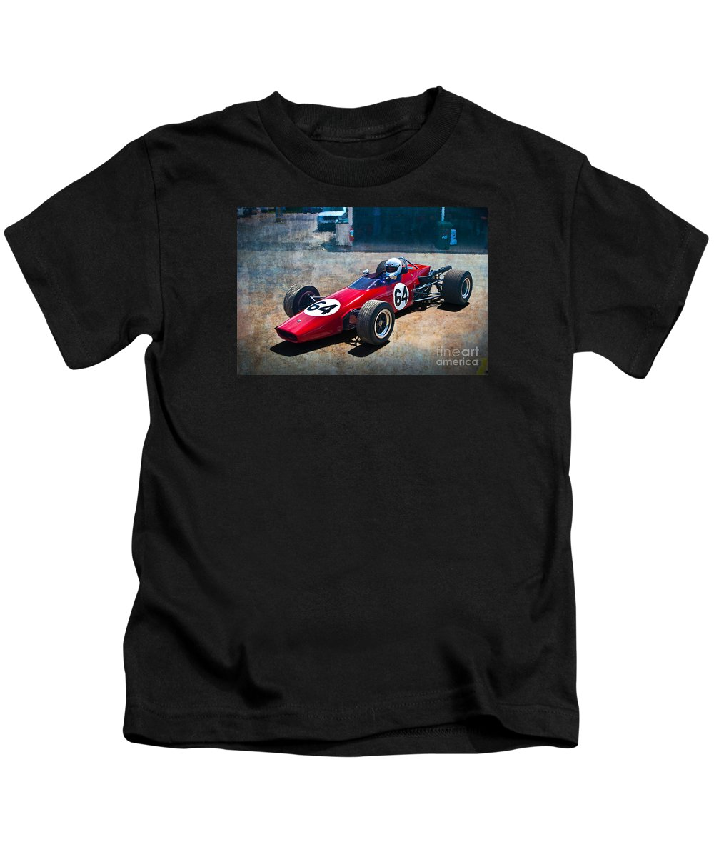 Historic Kids T-Shirt featuring the photograph 1968 Elfin 600 by Stuart Row