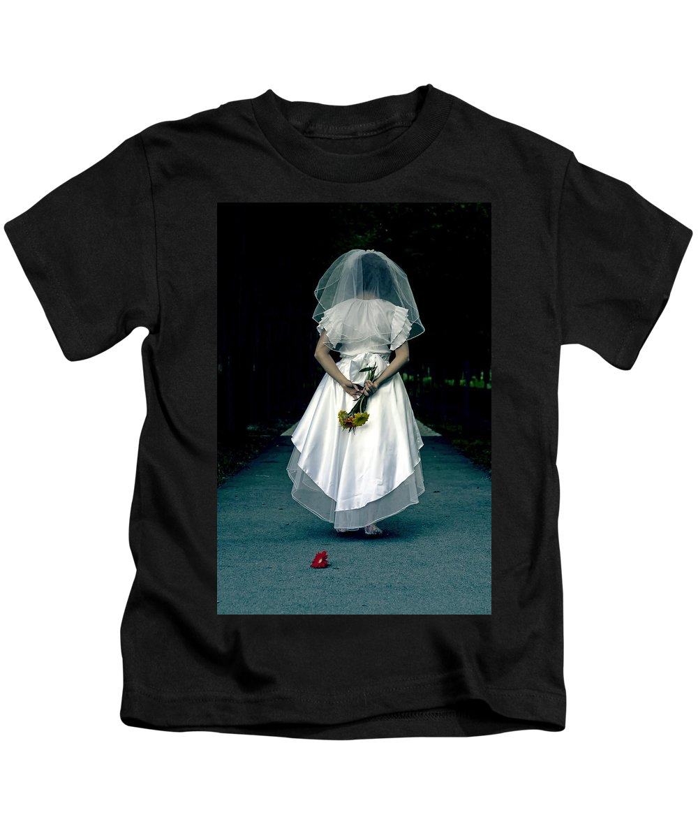 Female Kids T-Shirt featuring the photograph The Bride by Joana Kruse