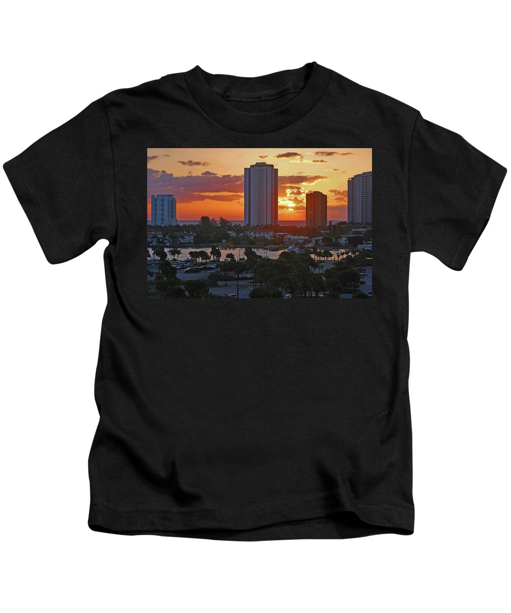 Phil Foster Park Kids T-Shirt featuring the photograph 21- Phil Foster Park- Singer Island by Joseph Keane