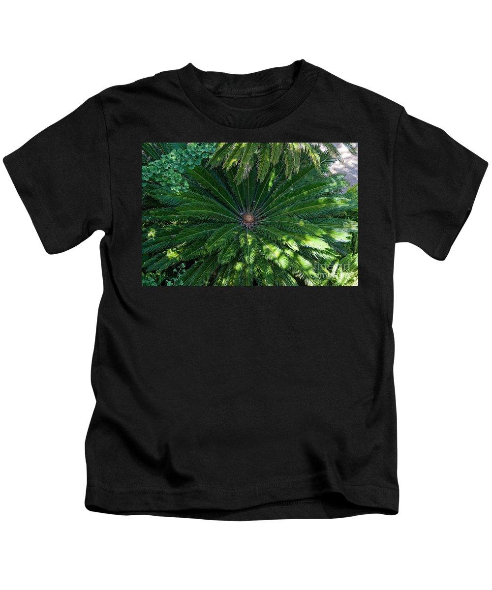 Animals Kids T-Shirt featuring the digital art La Brea Tar Pits by Carol Ailles