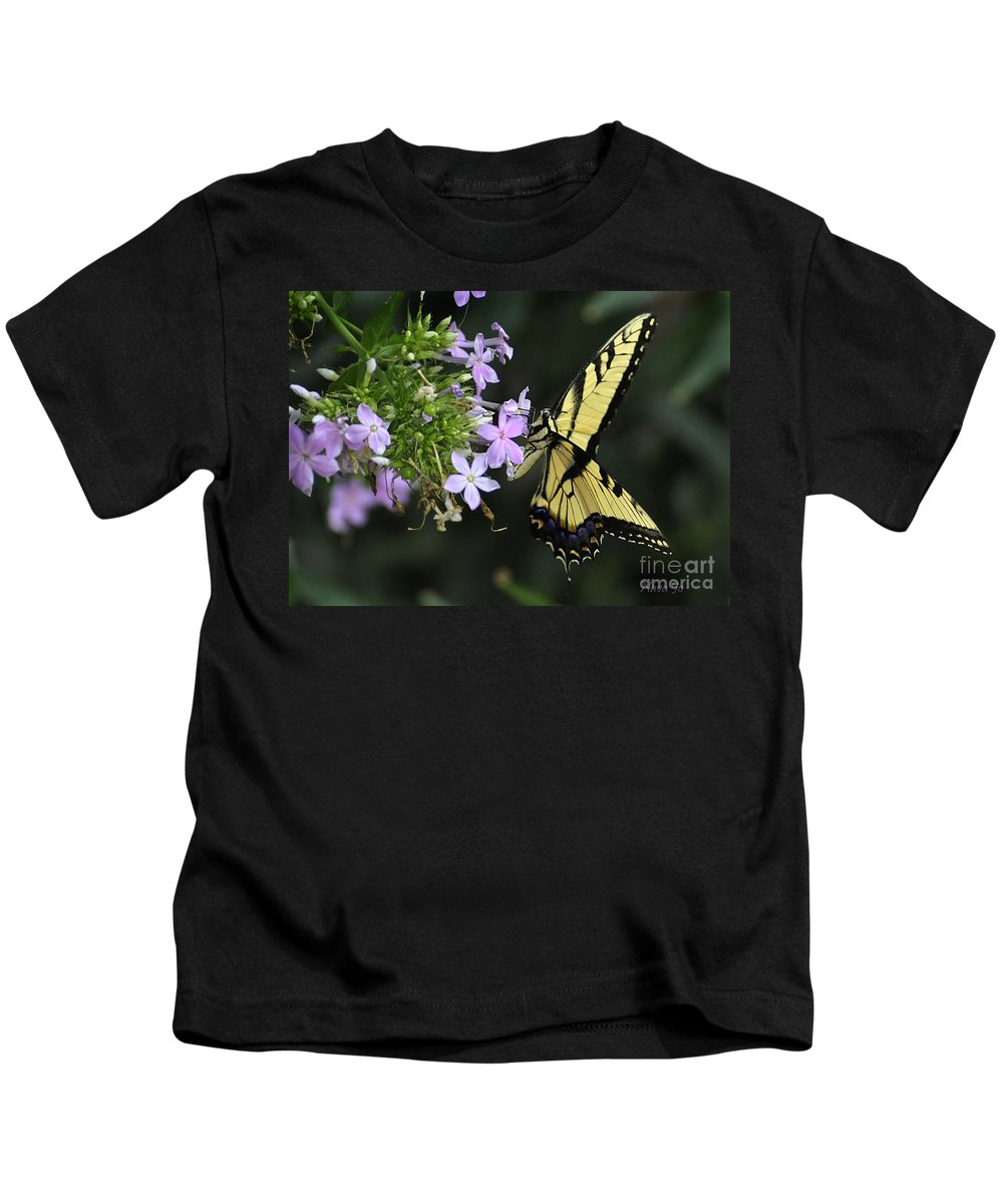 Nature Kids T-Shirt featuring the photograph A Memory by Nava Thompson