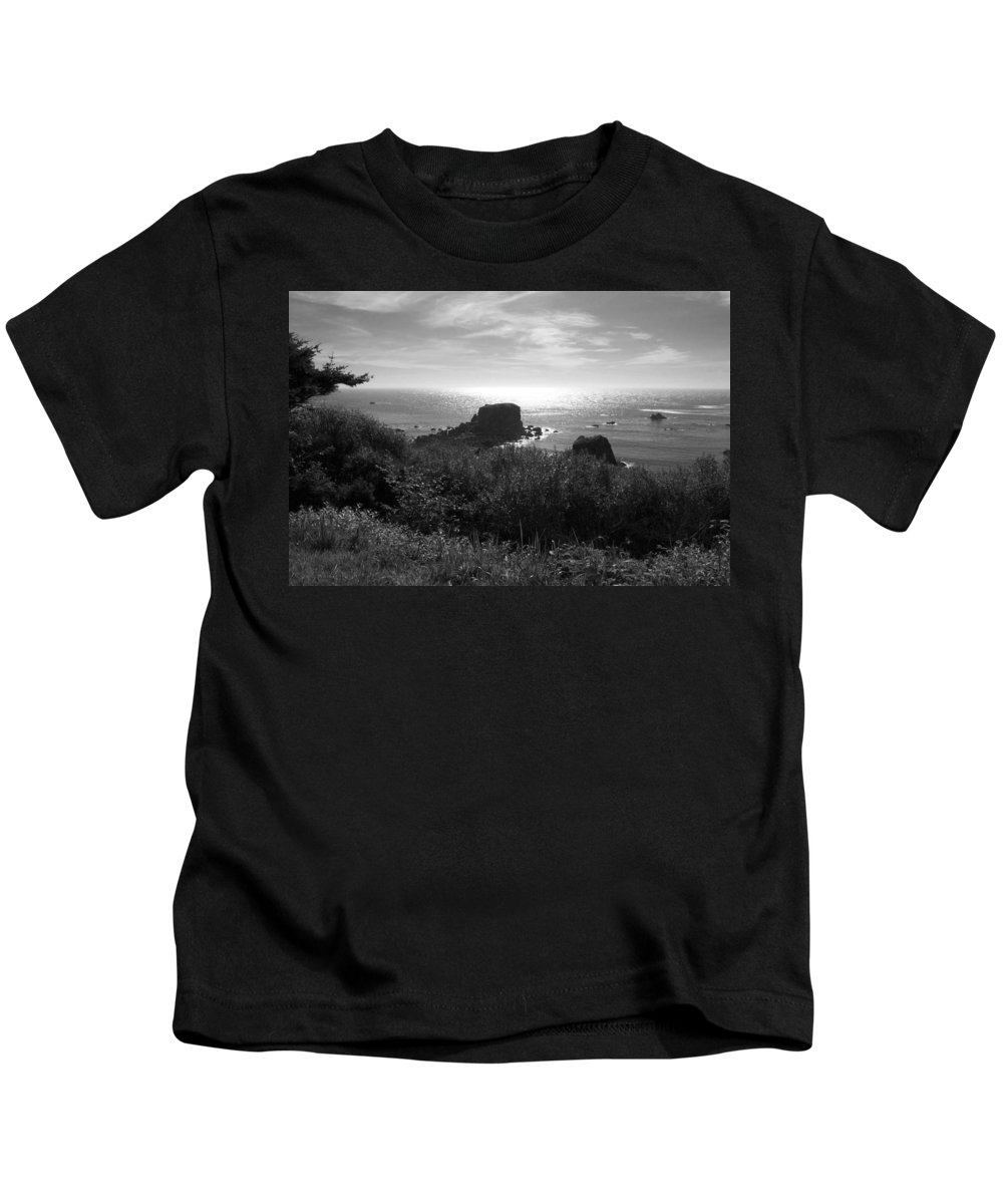 Coastal Kids T-Shirt featuring the photograph A Perfect View Of Sunlight by Kathleen Grace