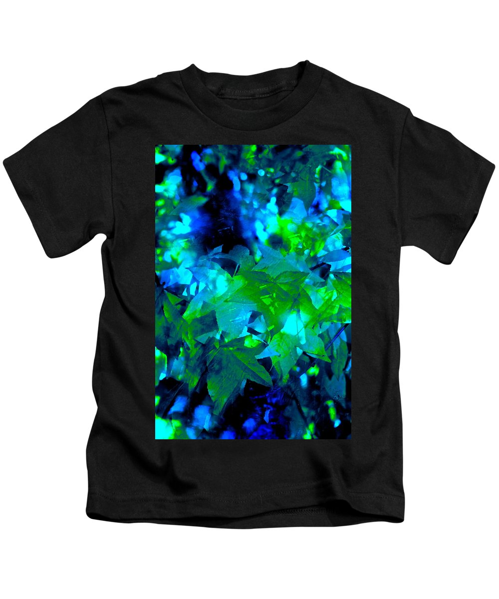 Abstract Kids T-Shirt featuring the photograph Abstract 100 by Pamela Cooper
