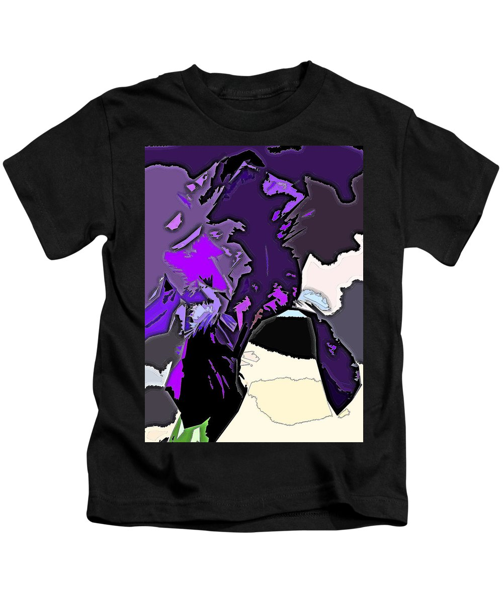 Abstract Kids T-Shirt featuring the photograph Abstract 190 by Pamela Cooper