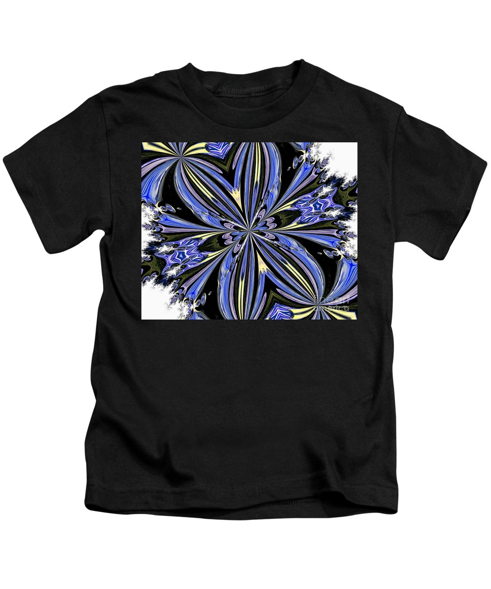 Abstract Kids T-Shirt featuring the digital art Abstract 47 by Maria Urso