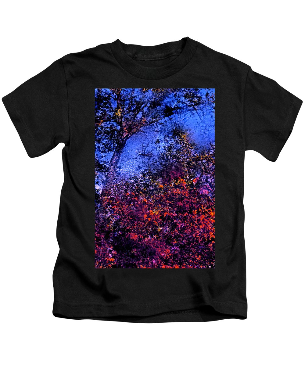 Abstract Kids T-Shirt featuring the photograph Abstract 94 by Pamela Cooper