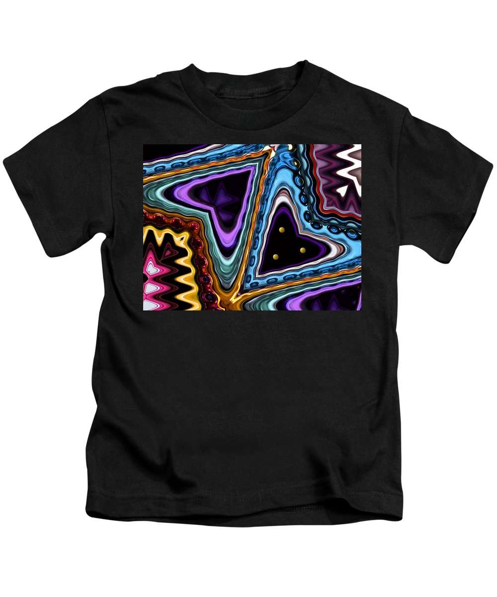 Heart Kids T-Shirt featuring the photograph Abstract Hearts by Kristin Elmquist