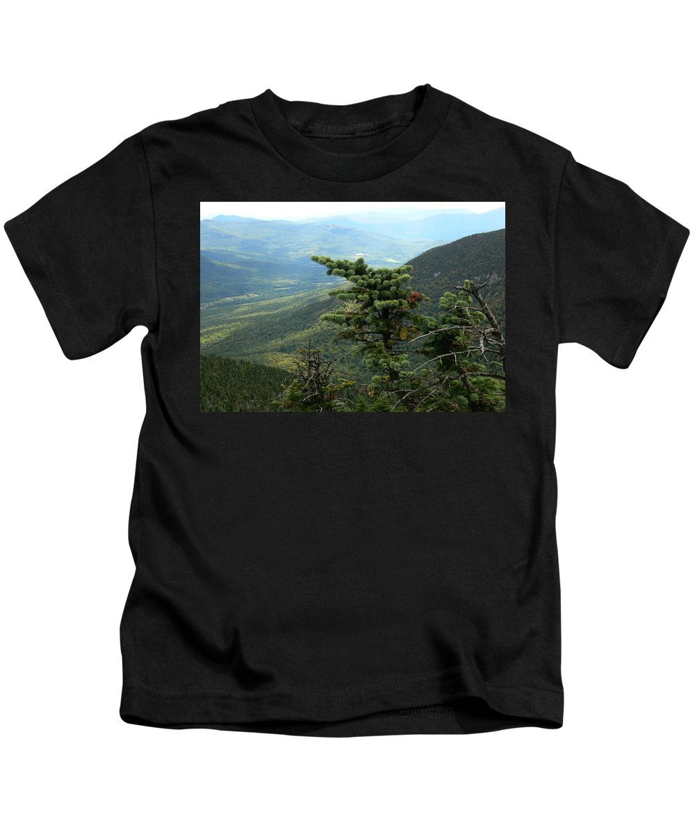 Vermont Mountains Kids T-Shirt featuring the photograph Adapt by Natalie LaRocque