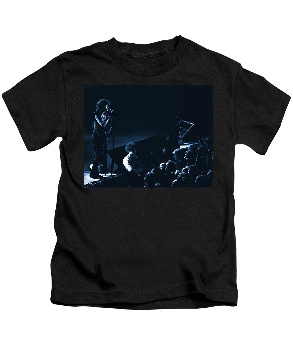 Aerosmith Kids T-Shirt featuring the photograph Aerosmith In Spokane 14a by Ben Upham