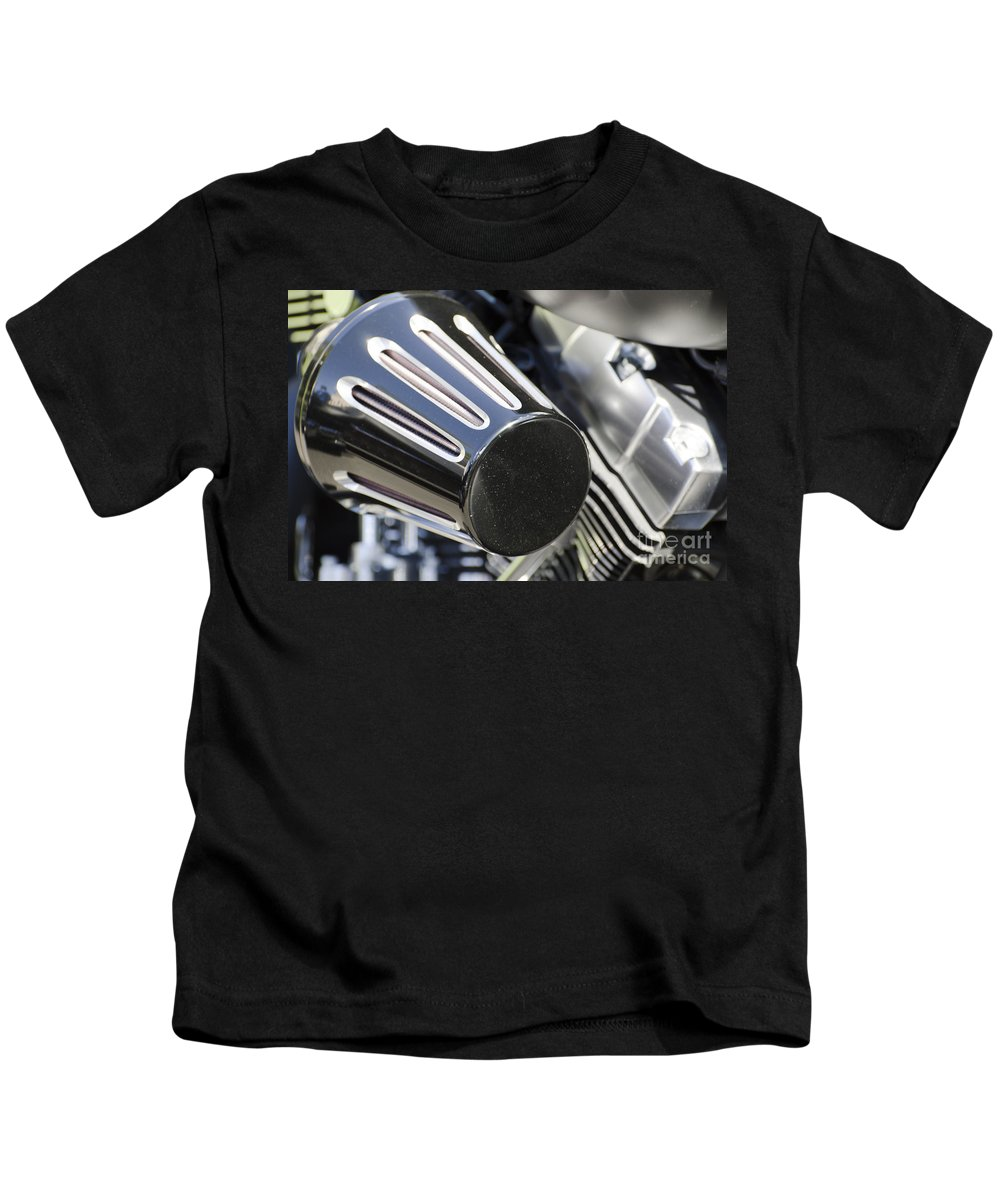 Motorcycle Kids T-Shirt featuring the photograph Air Filter by Mats Silvan