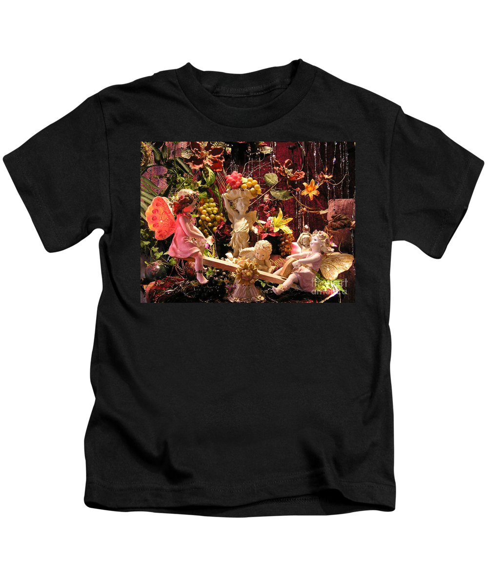 Angel Kids T-Shirt featuring the photograph Angel Love by Anthony Wilkening