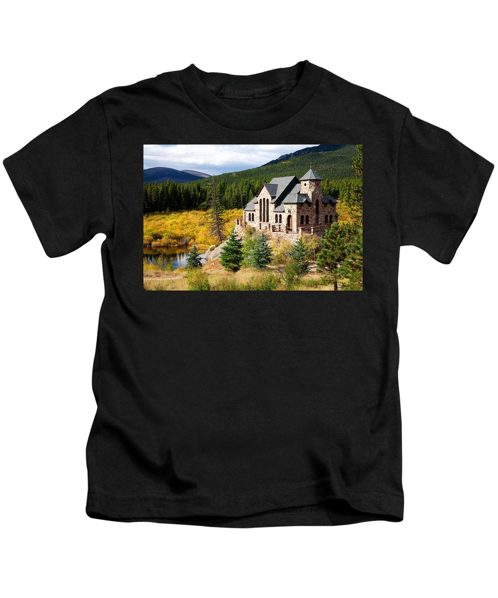 Autumn Colors Kids T-Shirt featuring the photograph Autumn At St. Malo by Jim Garrison