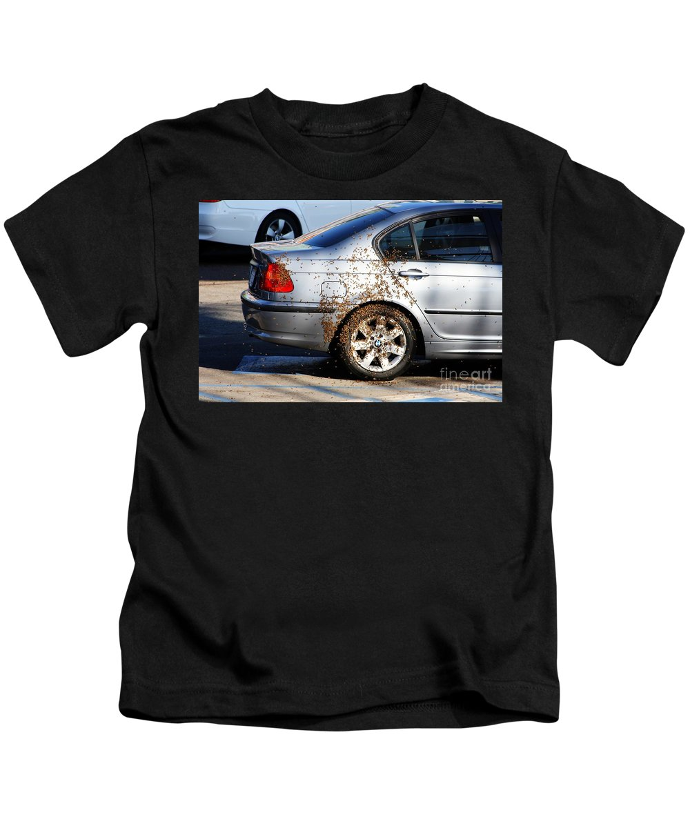 Bwm Kids T-Shirt featuring the photograph Beemeer by Tommy Anderson