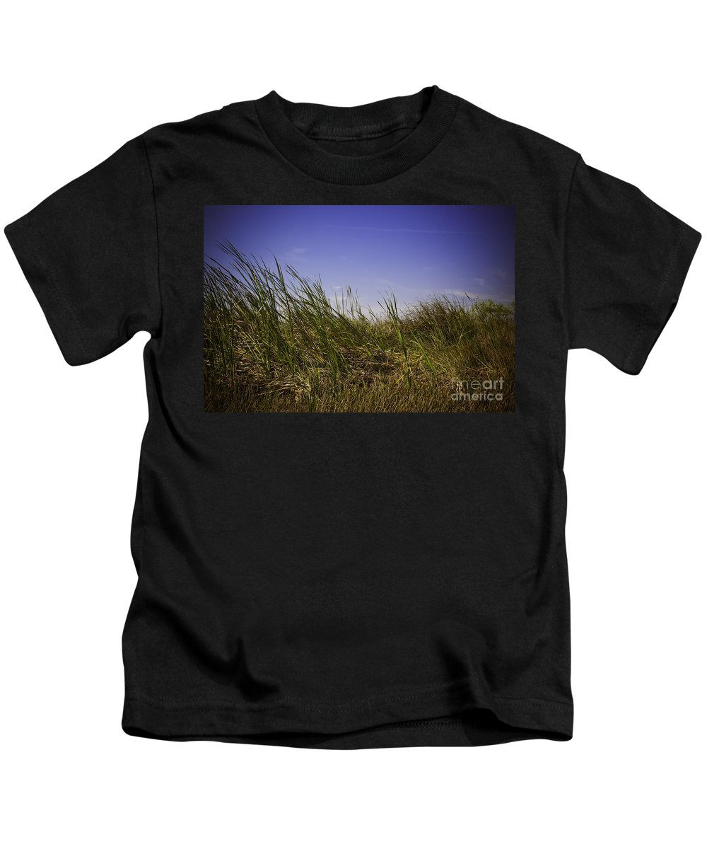Grass Kids T-Shirt featuring the photograph Blades Of Grass by Madeline Ellis