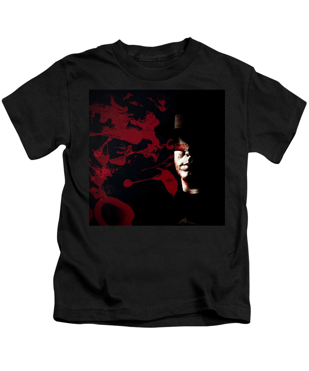 Blood Kids T-Shirt featuring the photograph Bleeding Self by Monte Arnold