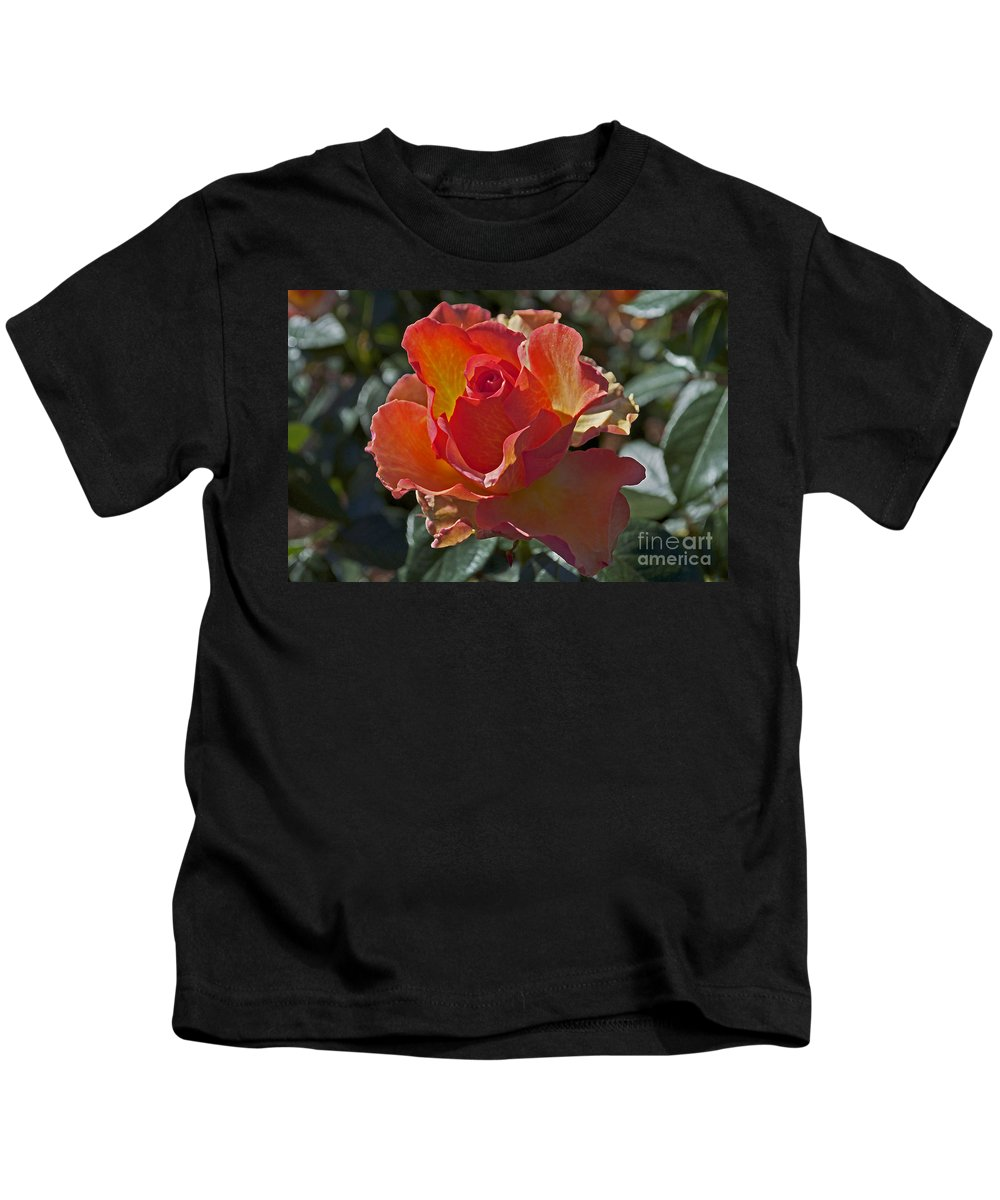 Rose Kids T-Shirt featuring the photograph Blessings by Gwyn Newcombe