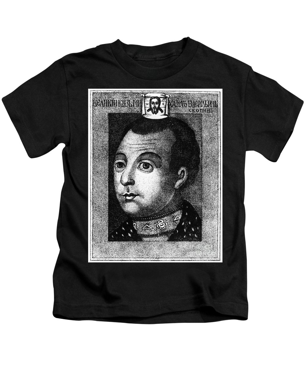 1590s Kids T-Shirt featuring the photograph Boris Godunov (c1551-1605) by Granger