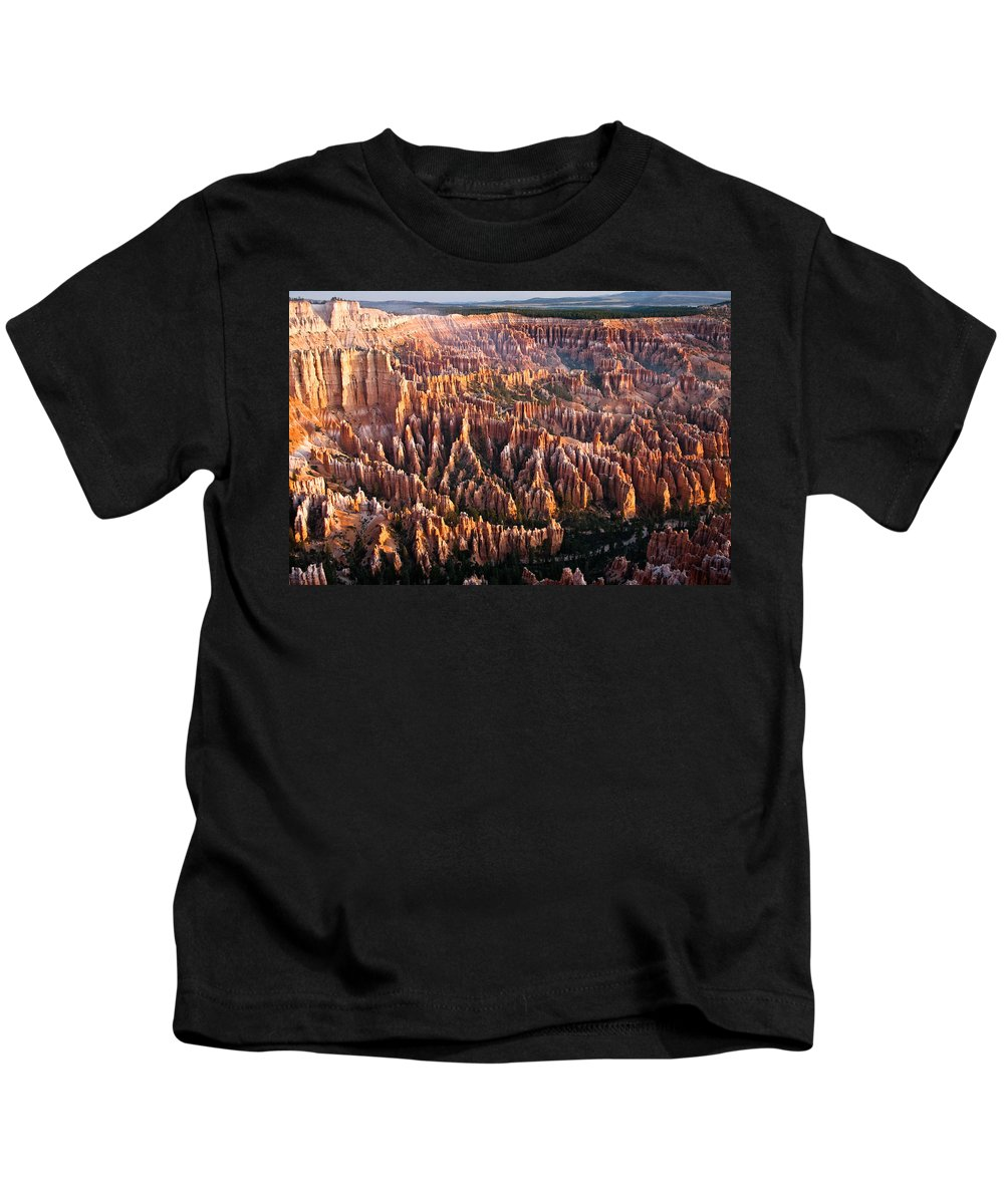 Bryce Canyon National Park Kids T-Shirt featuring the photograph Bryce Canyon by Ralf Kaiser