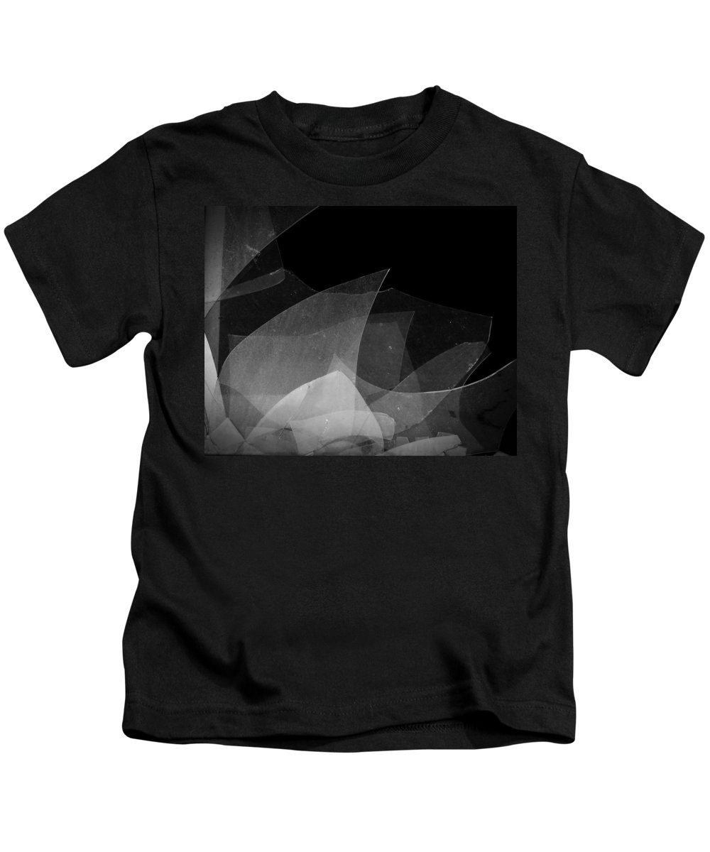 Urban Exploration Kids T-Shirt featuring the photograph Busted by April Davis