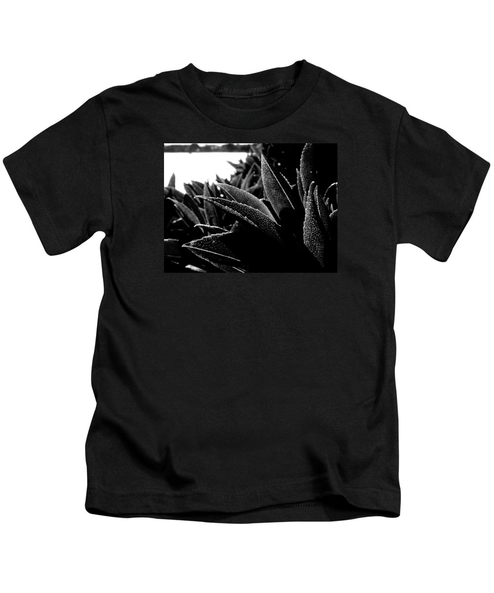 Sea Water Kids T-Shirt featuring the photograph By The Estuary Shore by Steve Taylor