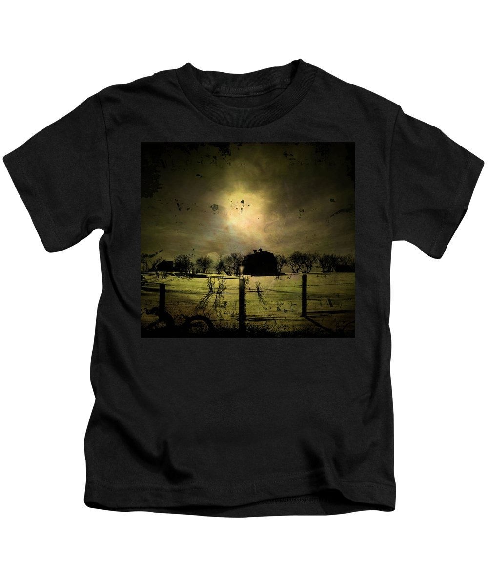 : Jerry Cordeiro Photographs Photographs Photographs Photographs Photographs Kids T-Shirt featuring the photograph Cackling Breath by The Artist Project