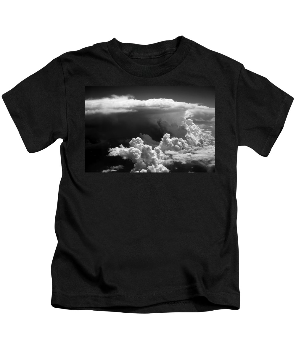 Clouds Kids T-Shirt featuring the photograph Cb1.020250 by Strato ThreeSIXTYFive