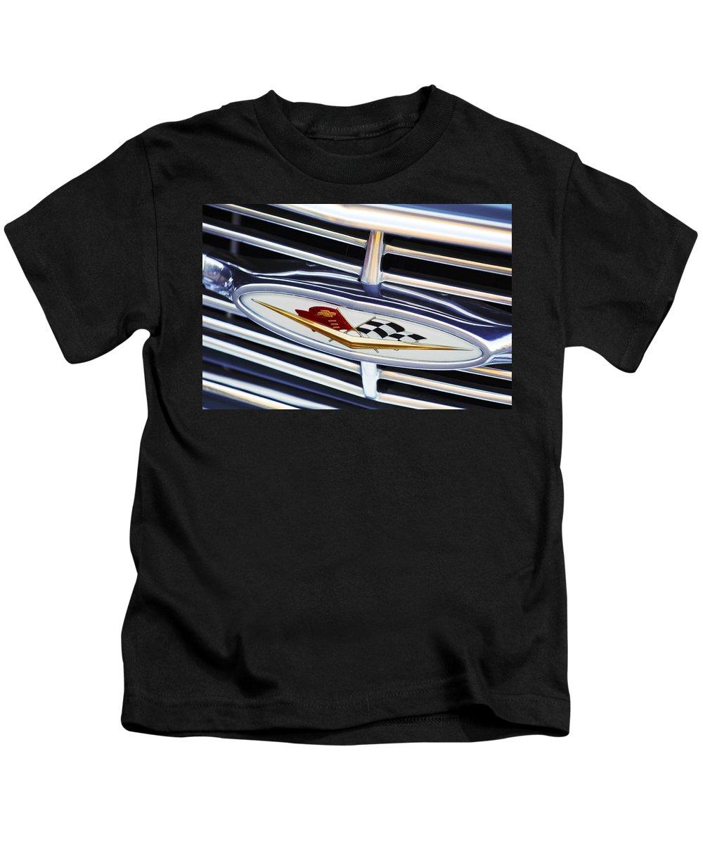 Chevrolet Kids T-Shirt featuring the photograph Chevrolet Emblem by Jill Reger