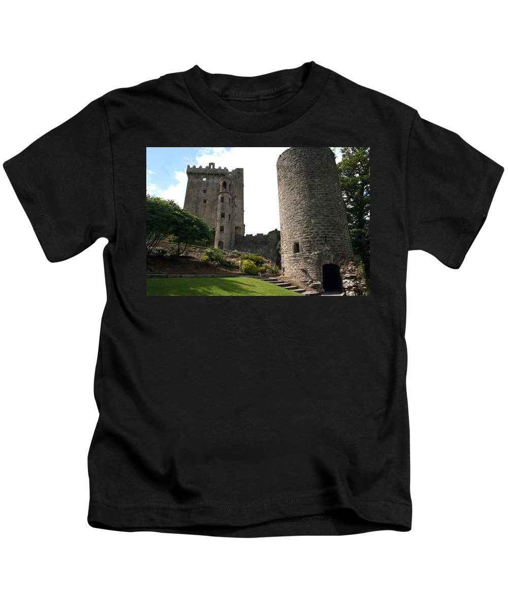 Blarney Castle Kids T-Shirt featuring the photograph City 0023 by Carol Ann Thomas