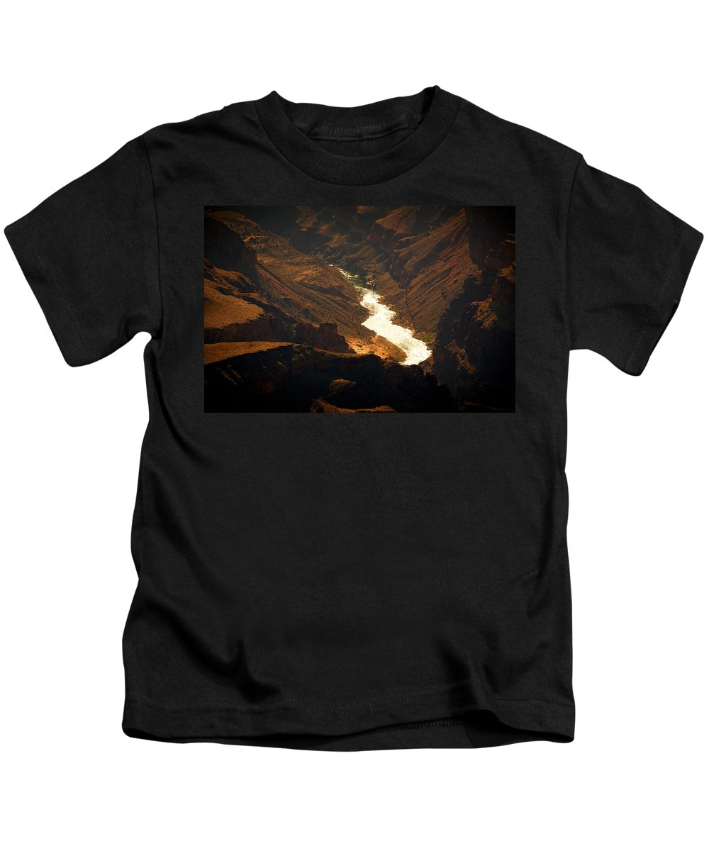 Colorado River Kids T-Shirt featuring the photograph Colorado River Rapids by Julie Niemela