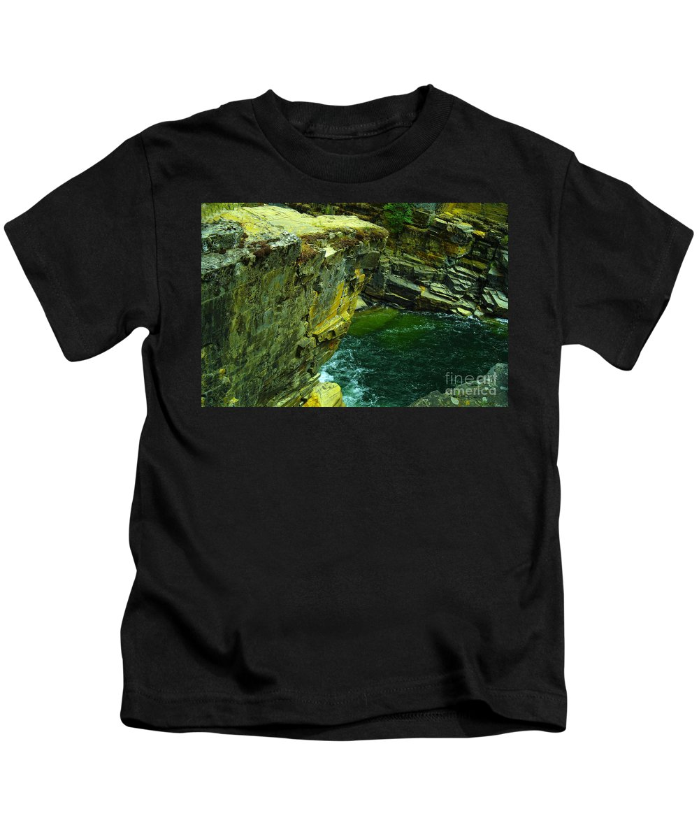 Water Kids T-Shirt featuring the photograph Colored Rocks by Jeff Swan