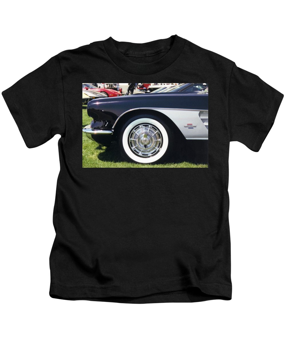Vintage Kids T-Shirt featuring the photograph Corvettes by Stacy C Bottoms