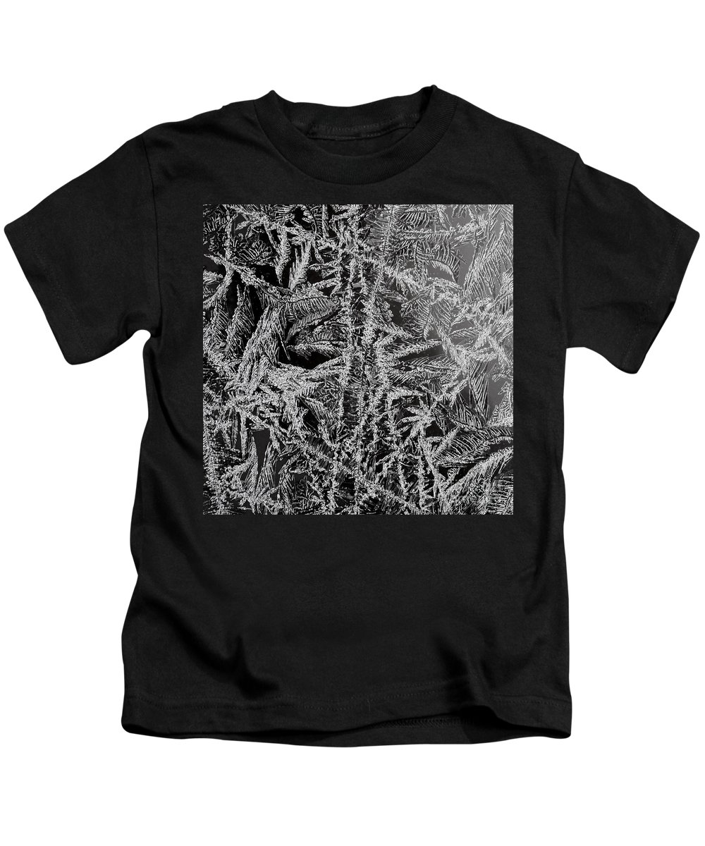 Ice Kids T-Shirt featuring the photograph Crystal 13 by Sabine Jacobs
