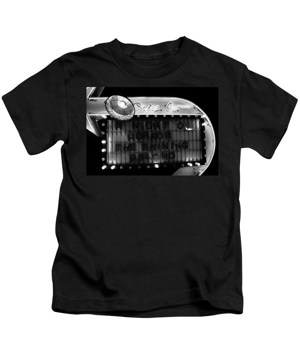 Fine Art Photography Kids T-Shirt featuring the photograph Dare To Drive In by David Lee Thompson