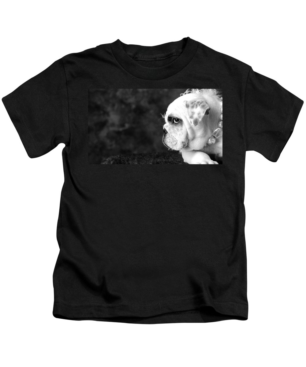 Dog Kids T-Shirt featuring the photograph Dressed Up Dog by Sumit Mehndiratta