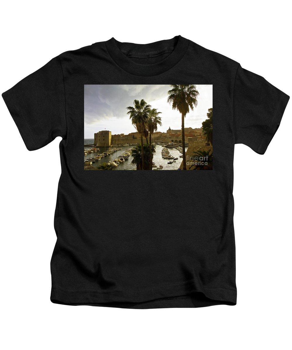 Dubrovnik Kids T-Shirt featuring the photograph Dubrovnik View 6 by Madeline Ellis