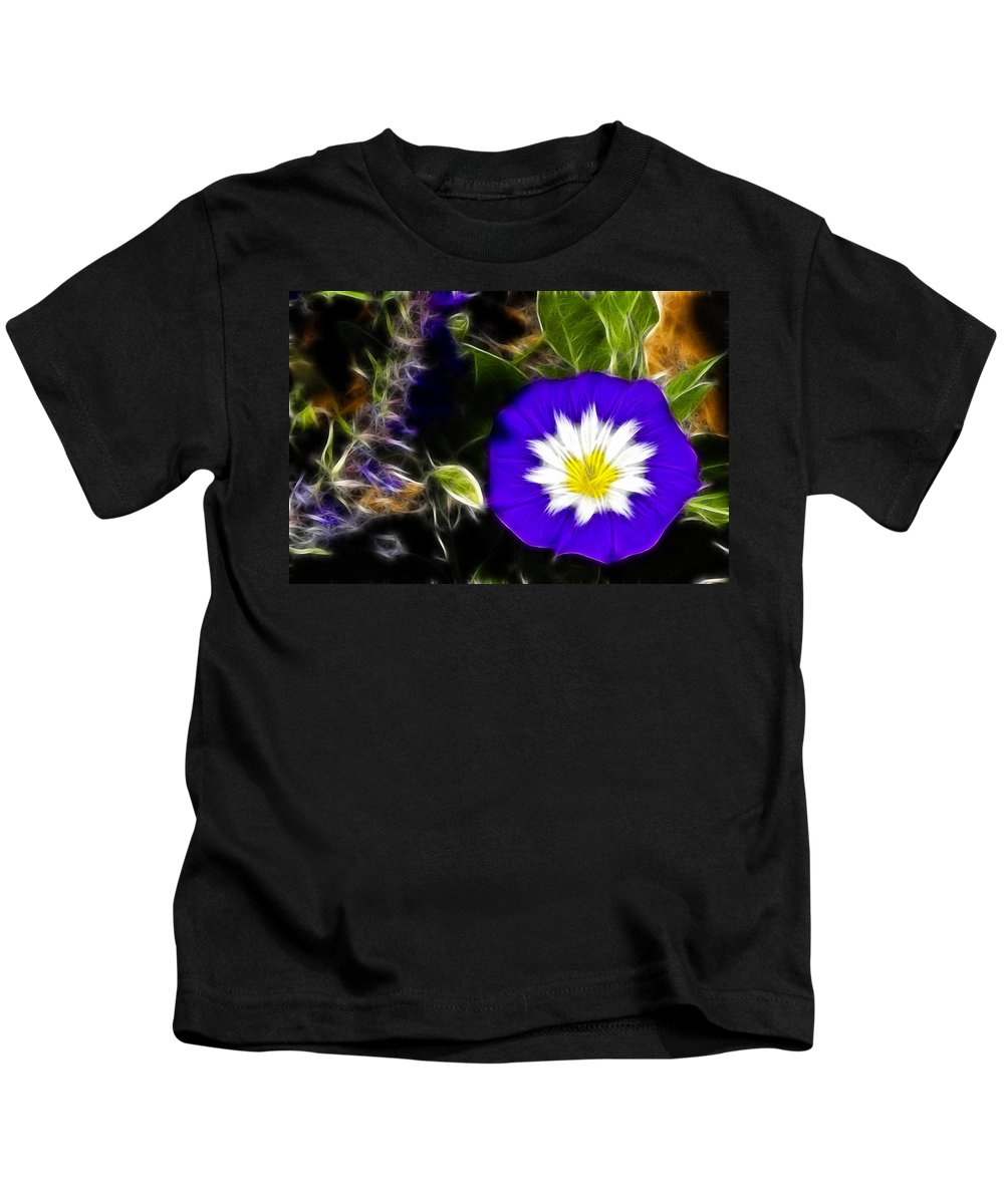 Electrified Kids T-Shirt featuring the photograph Electrified by Wes and Dotty Weber