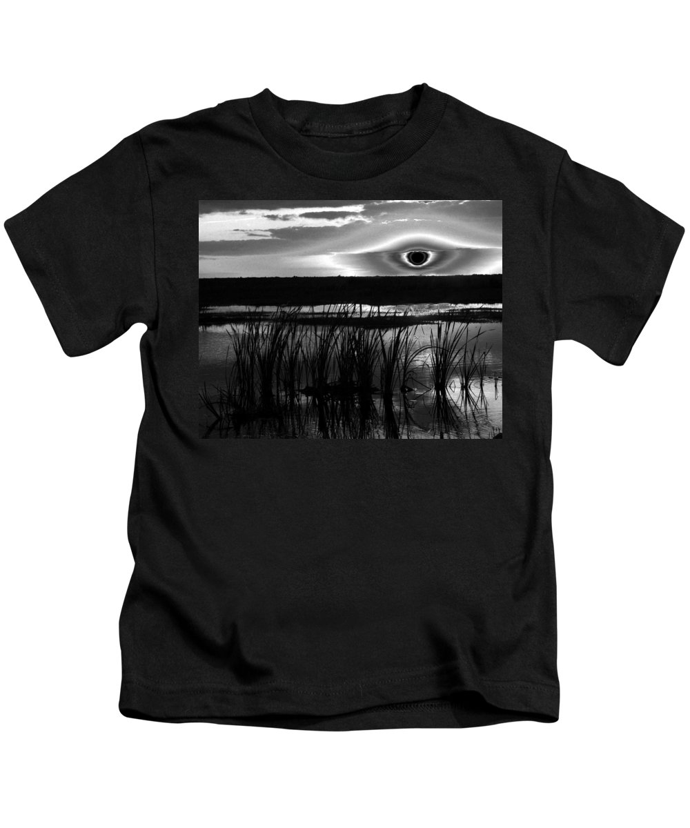 Fine Art Photography Kids T-Shirt featuring the photograph Eye Over Everglades by David Lee Thompson