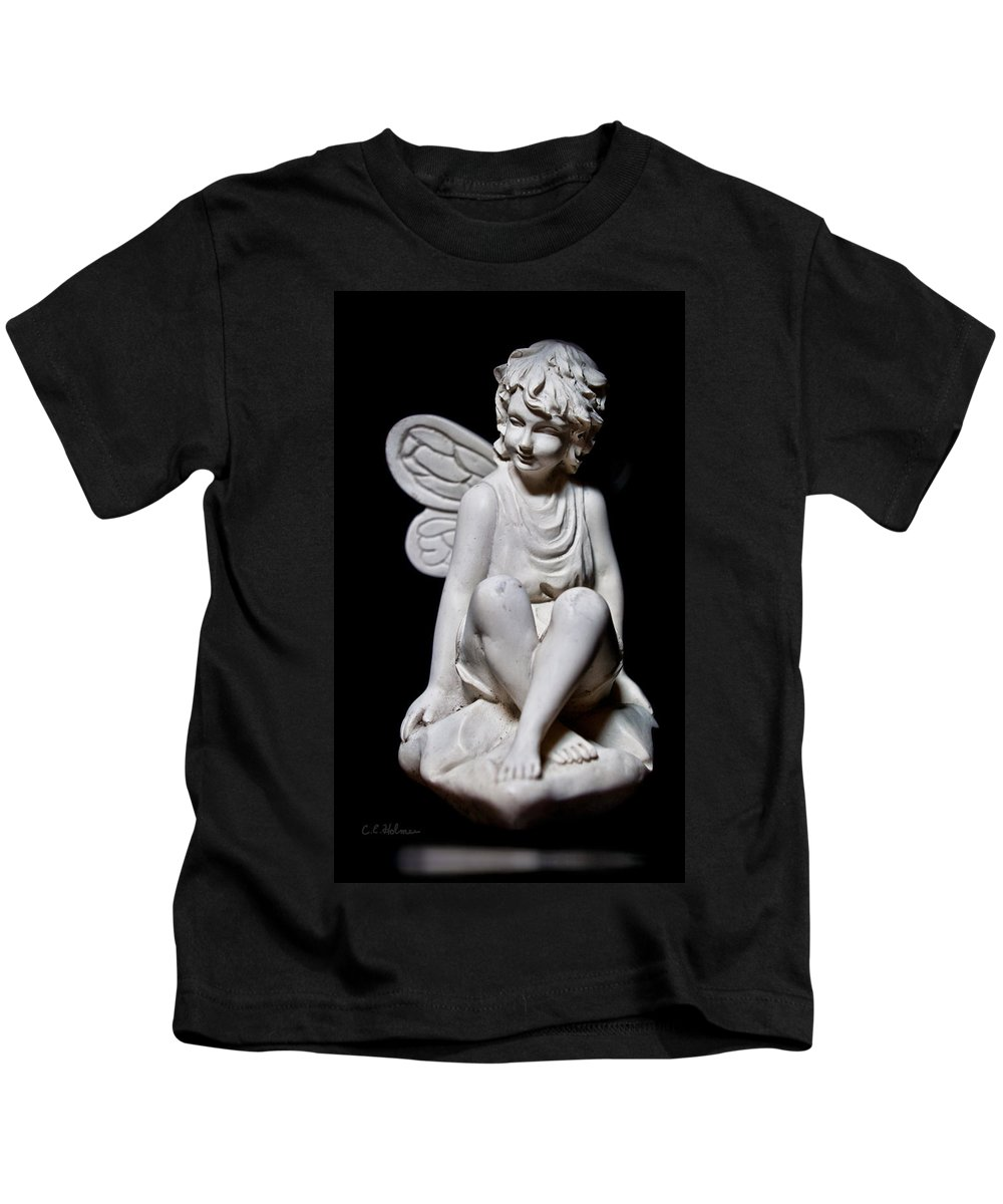 Fairy Kids T-Shirt featuring the photograph Fairy 2 by Christopher Holmes