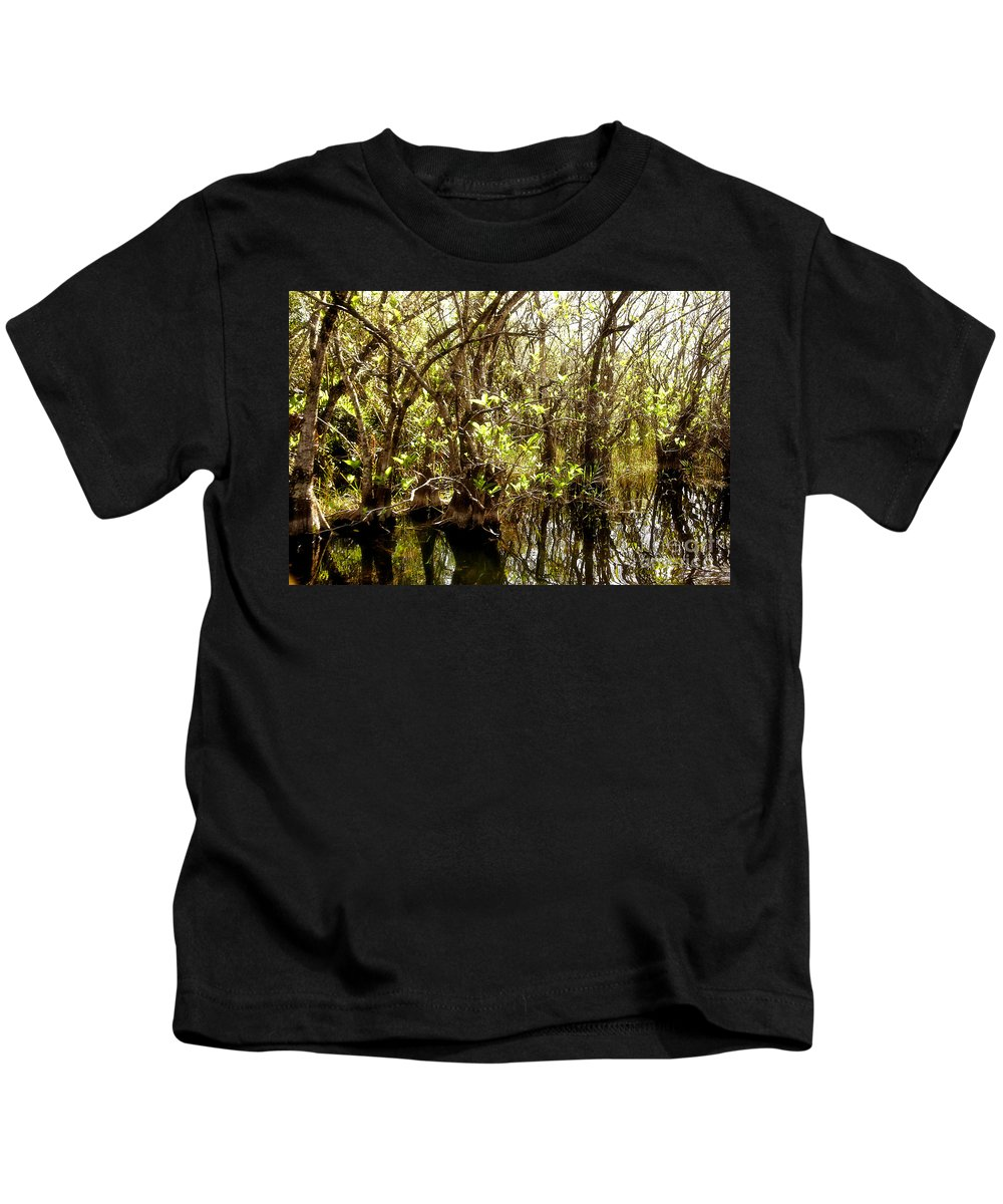 Miami Kids T-Shirt featuring the photograph Florida Everglades 9 by Madeline Ellis