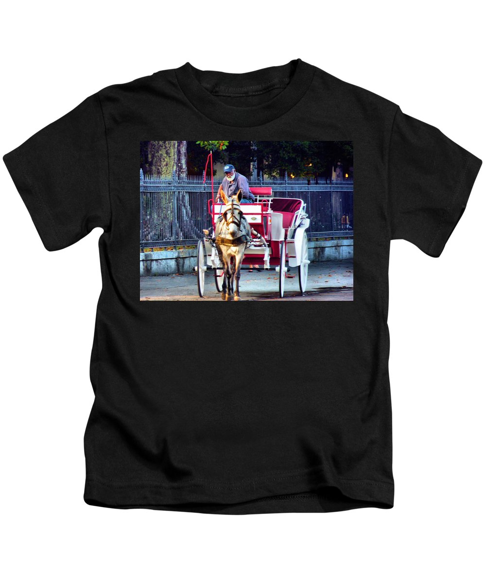 Buggy Kids T-Shirt featuring the photograph For Tourist Only by Anthony Walker Sr